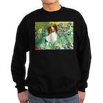Irises / Papillon Sweatshirt (dark)