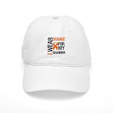 I Wear Orange For Grandma Baseball Cap