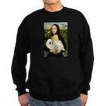 Mona /Pekingese (w) Sweatshirt (dark)