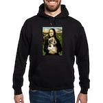 Mona Lisa / PBGV Hoodie (dark)