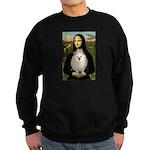Mona / Pomeranian(w) Sweatshirt (dark)