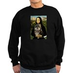 Mona and her Parti Pom Sweatshirt (dark)