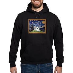 Starry Night / Poodle(w) Hoodie