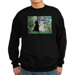 Bridge / Std Poodle (pr) Sweatshirt (dark)