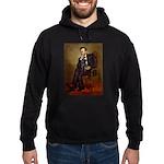 Lincoln-Black Pug Hoodie (dark)