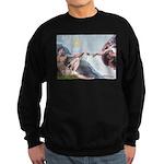 Creation / Fawn Pug Sweatshirt (dark)