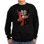 Lady / Pug Sweatshirt (dark)