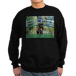 Bridge / Black Pug Sweatshirt (dark)