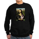 Mona's 2 Pugs Sweatshirt (dark)