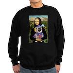 Mona & Sir Pug Sweatshirt (dark)