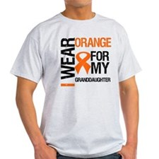 I Wear Orange Granddaughter T-Shirt