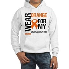 I Wear Orange Granddaughter Hoodie