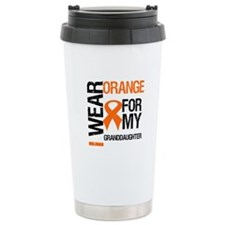I Wear Orange Granddaughter Travel Mug