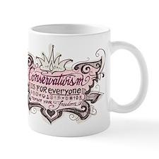 Conservativism is for Everyon Mug