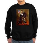 Lincoln's Rottweiler Sweatshirt (dark)