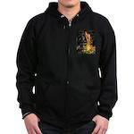 MidEve / Rottweiler Zip Hoodie (dark)