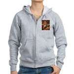 The Path / Rottie Women's Zip Hoodie