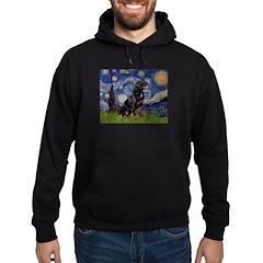 Starry/Rottweiler (#6) Hoodie
