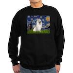 Starry / Samoyed Sweatshirt (dark)