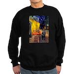 Cafe & Schipperke Sweatshirt (dark)