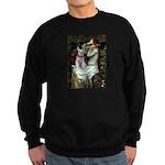 Ophelia's Schnauzer Sweatshirt (dark)