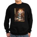 Elizabeth / Min Schnauzer Sweatshirt (dark)