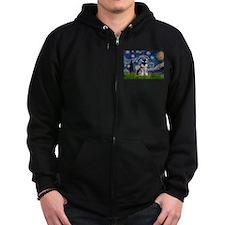 Starry / Schnauzer Zip Hoodie
