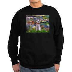 Lilies / M Schnauzer Sweatshirt