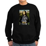 Mona & her PS Giant Schnauzer Sweatshirt (dark)
