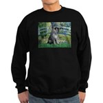 Lily Pond Bridge/Giant Schnau Sweatshirt (dark)