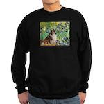 Irises / Sheltie Sweatshirt (dark)