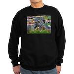 Lilies #2 & PS Giant Schnauze Sweatshirt (dark)