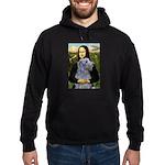 Mona /Scot Deerhound Hoodie (dark)