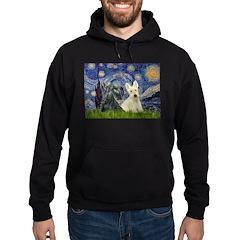 Starry /Scotty pair Hoodie