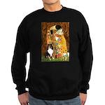 Kiss/Tri Color Sheltie Sweatshirt (dark)