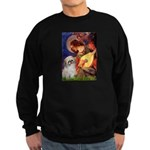Angel3/Shih Tzu (P) Sweatshirt (dark)