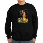 MidEve/Shih Tzu (P) Sweatshirt (dark)