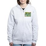 Irises / Toy Fox T Women's Zip Hoodie