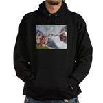 Creation / Weimaraner Hoodie (dark)