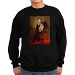 Lincoln's Corgi Sweatshirt (dark)
