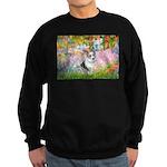 Garden / Corgi (bm) Sweatshirt (dark)