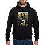 Mona Lisa / Corgi (bibl)Mona's Pembroke Hoodie (da