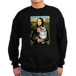 Mona's Corgi (Bl.M) Sweatshirt (dark)