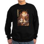 Queen / Welsh Corgi Sweatshirt (dark)