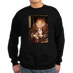 The Queen's Corgi Sweatshirt (dark)