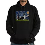 Starry Night / Welsh Corgi(bi Hoodie (dark)