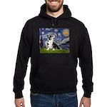 Starry Night / Welsh Corgi Hoodie (dark)
