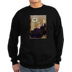 Mom's Welsh Corgi Sweatshirt (dark)