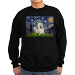 Starry Night/Westie Sweatshirt (dark)