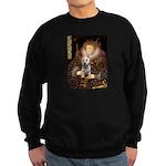 Queen Liz & Her Westie Sweatshirt (dark)